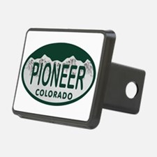 Pioneer Colo License Plate Hitch Cover