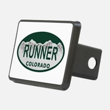 Runner Colo License Plate Hitch Cover