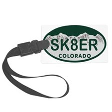 Sk8er Colo License Plate Luggage Tag