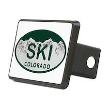 Ski Colo License Plate Hitch Cover