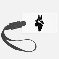 African Peace Luggage Tag