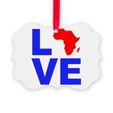 Love Africa Ornament