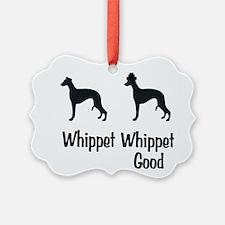 Whippet Good Ornament