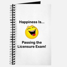 Happiness is Licensure Journal