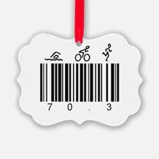 Bar Code 70.3 Ornament