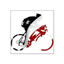 "USA Pro Cycling Square Sticker 3"" x 3"""