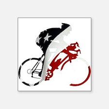 """USA Pro Cycling Square Sticker 3"""" x 3"""""""