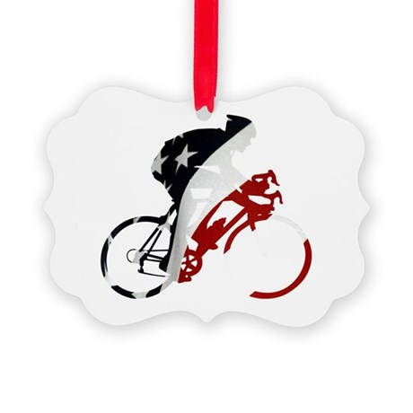 USA Pro Cycling Picture Ornament