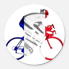 le Tour de France Round Car Magnet