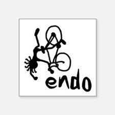 "Endo Square Sticker 3"" x 3"""