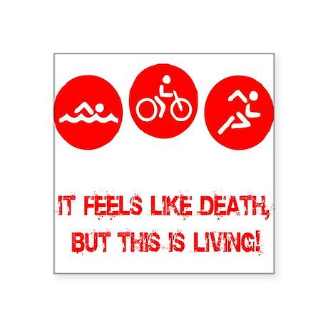 Tri death_living Sticker