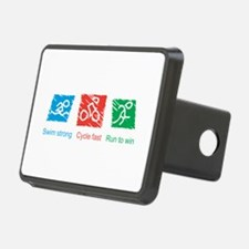 Swim Strong, Cycle Fast, Run to Win Hitch Cover