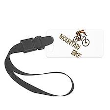 Mountain Bike Downhill Luggage Tag