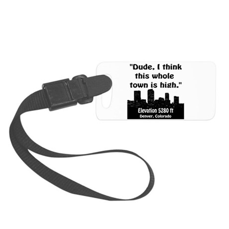 High City Small Luggage Tag