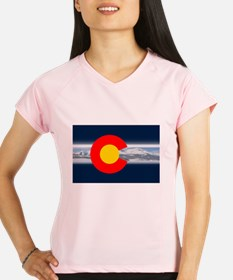 CO_Flag_Mountain.png Performance Dry T-Shirt