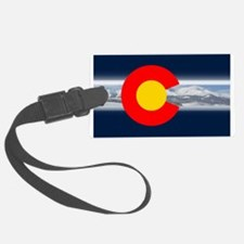 CO_Flag_Mountain.png Luggage Tag