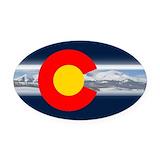 Colorado Oval Car Magnets