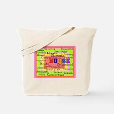 Nurse Blanket oranges.PNG Tote Bag