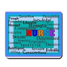 Nurse Blanket blue.PNG Mousepad