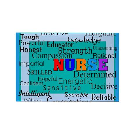 Nurse Blanket blue.PNG Rectangle Magnet (100 pack)