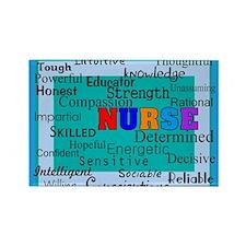 Nurse Blanket blue.PNG Rectangle Magnet (10 pack)