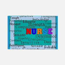 Nurse Blanket blue.PNG Rectangle Magnet