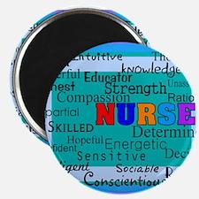 """Nurse Blanket blue.PNG 2.25"""" Magnet (100 pack)"""