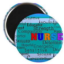 """Nurse Blanket blue.PNG 2.25"""" Magnet (10 pack)"""
