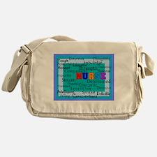 Nurse Blanket blue.PNG Messenger Bag
