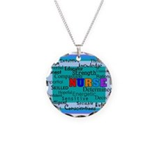 Nurse Blanket blue.PNG Necklace