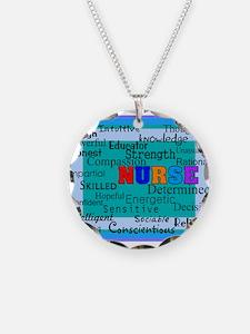 Nurse Blanket blue.PNG Necklace