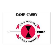 Camp Casey with Text Postcards (Package of 8)