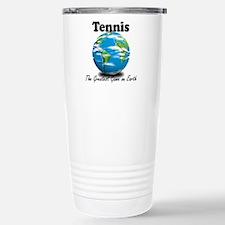 Tennis Stainless Steel Travel Mug