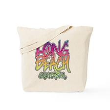 Long Beach Graffiti Tote Bag