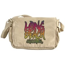 Long Beach Graffiti Messenger Bag