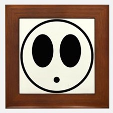 Shy Mask Framed Tile