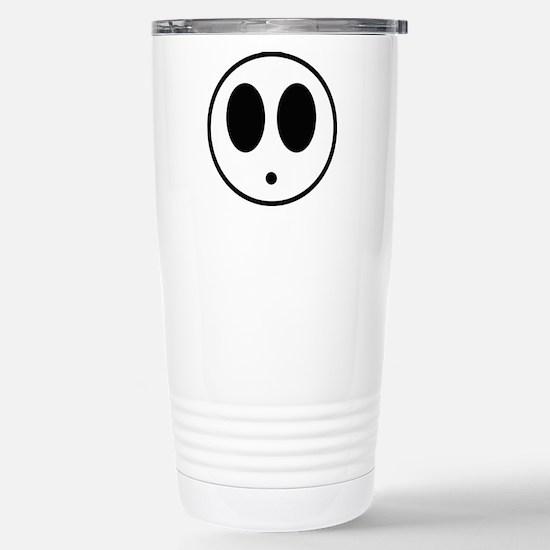 Shy Mask Stainless Steel Travel Mug