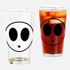 Shy Mask Drinking Glass