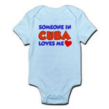 Someone In Cuba Loves Me Infant Bodysuit
