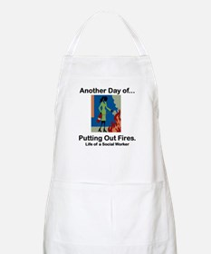 Life of a Social Worker BBQ Apron