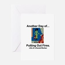 Life of a Social Worker Greeting Cards (Package of