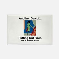 Life of a Social Worker Rectangle Magnet (10 pack)