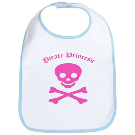 Pirate Princess Bib