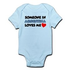 Someone Argentina Loves Me Infant Bodysuit