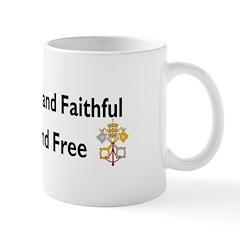 Catholic Faithful - American Free Mug