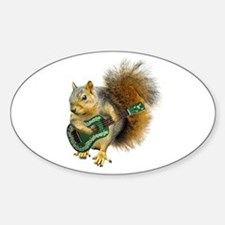 Squirrel Ukulele Decal