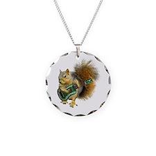 Squirrel Ukulele Necklace