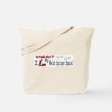 NB_Welsh Springer Spaniel Tote Bag