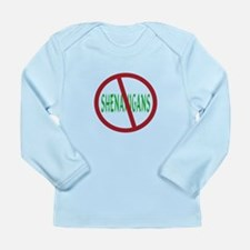 No Shenanigans Symbol Long Sleeve Infant T-Shirt