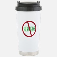 No Shenanigans Symbol Travel Mug